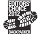 Backpacker 2012 Editors' Choice Award